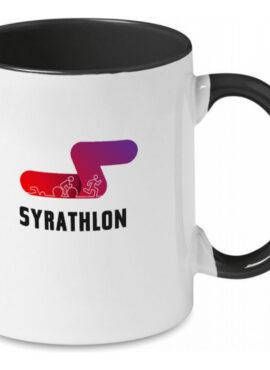SYRATHLON Coloured ceramic mug 300ml (black)
