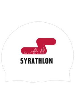 SYRATHLON Swimming Cap (white/yellow/green)