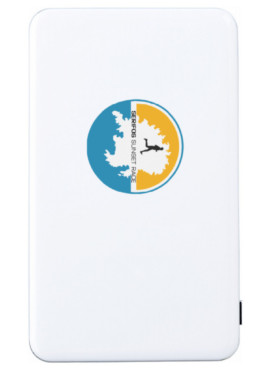 SSR  ABS power bank – White