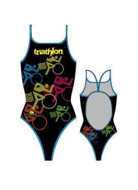Γυναικείο μαγιό Triathlon Bikes – TURBO